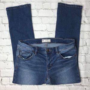 Free People Skinny Ankle Jeans Medium Wash Size 26